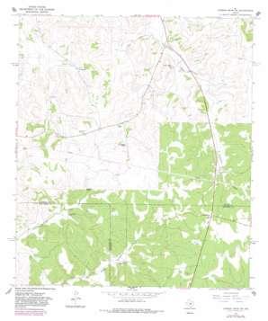 Dunbar Draw Sw topo map