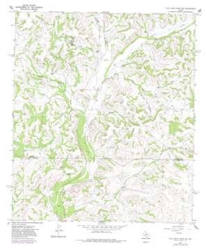 Flat Rock Draw Sw topo map