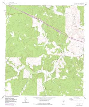 Live Oak Draw topo map