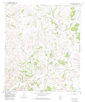Hudspeth Draw topo map