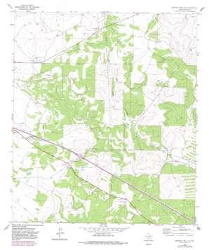 Buffalo Well Sw topo map