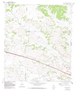 Nolen Draw topo map