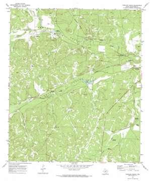 Coralina Ranch topo map