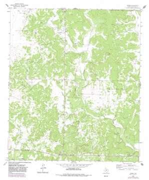 Adams topo map