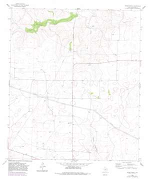 Moore Ranch topo map