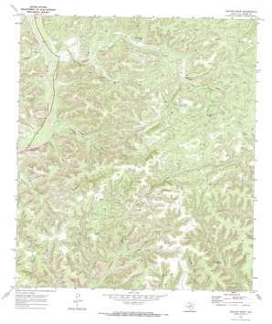 Deaton Draw topo map