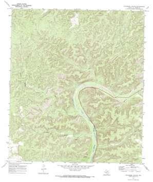 Sycamore Canyon topo map