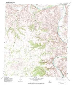 Little Fielder Draw topo map