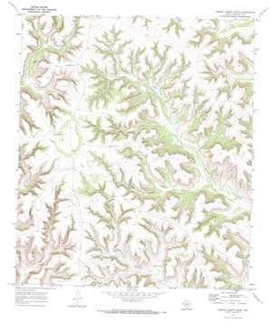 Prince Albert Draw topo map