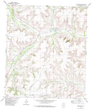 Oasis Ranch topo map