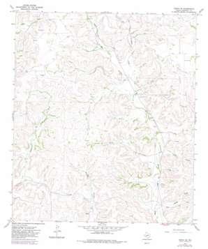 Ozona Se topo map
