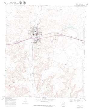 Ozona topo map