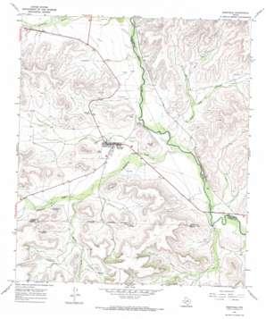 Sheffield topo map