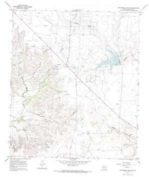 Schneeman Draw Se topo map