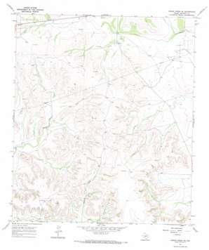 Owens Creek Se topo map