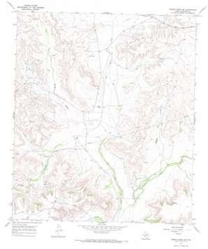 Owens Creek Sw topo map