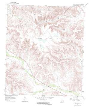Divide Country topo map