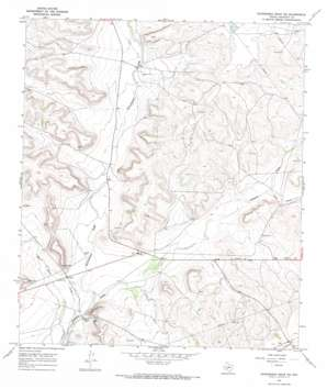 Schneeman Draw Nw topo map