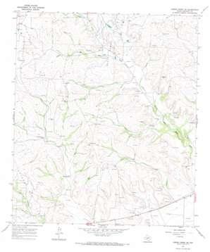 Owens Creek Ne topo map