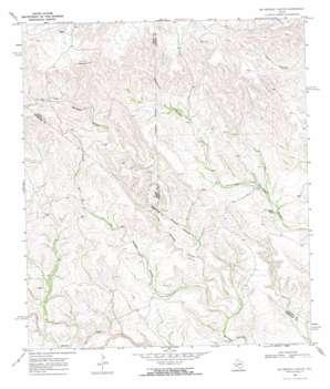 Big Brindle Canyon topo map