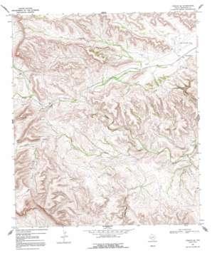 Tesnus Se topo map