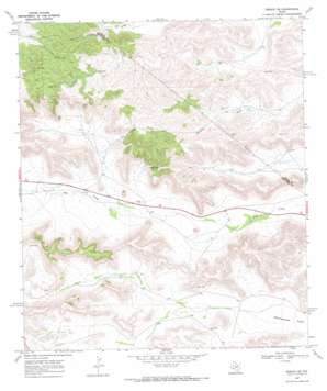 Tesnus Ne topo map