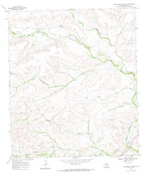Continental Ranch topo map