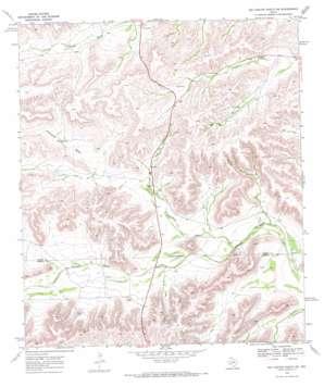 Big Canyon Ranch Sw topo map