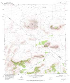 Dimple Hills topo map