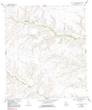 Circle Dot Ranch Ne topo map