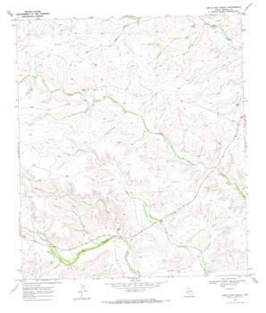 Circle Dot Ranch topo map