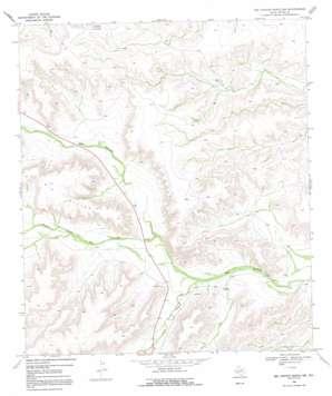 Big Canyon Ranch Nw topo map