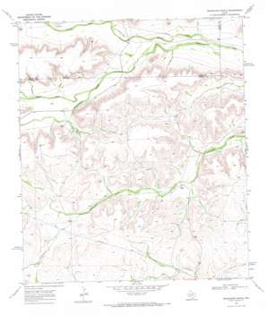 Seventeen Ranch topo map