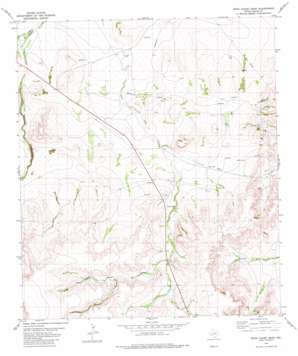 Rock House Draw topo map