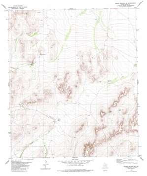 Sierra Madera Se topo map
