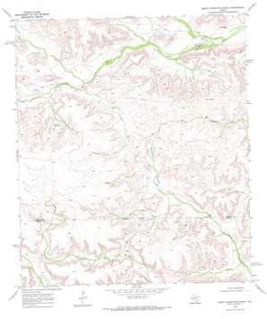 Smokey Mountain Ranch topo map