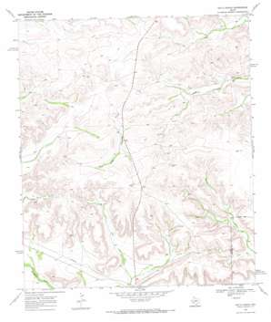Hat-A Ranch topo map