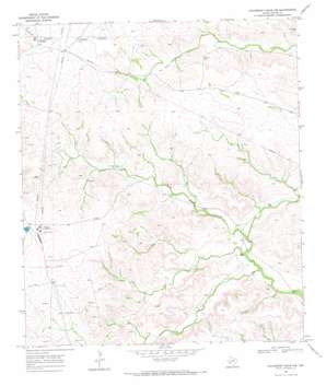 Hackberry Draw Nw topo map