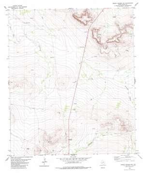 Sierra Madera Nw topo map
