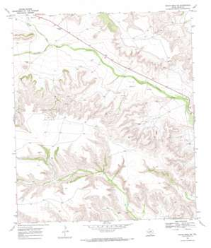 Indian Mesa Se topo map