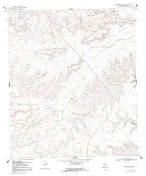 Sherbino Ranch topo map