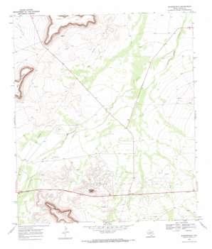 Bakersfield topo map