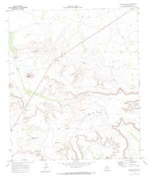 Saddle Butte topo map
