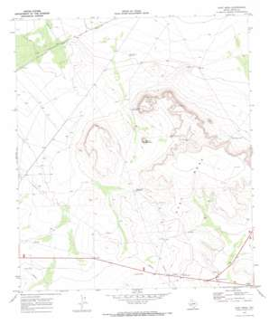 East Mesa topo map