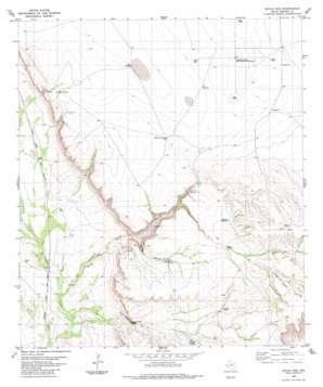 Devils Den topo map
