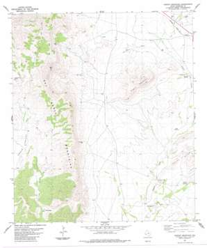 Dugout Mountain USGS topographic map 30103b4