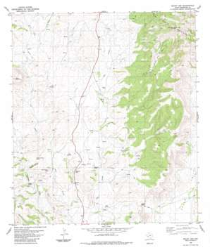 Mount Ord USGS topographic map 30103b5