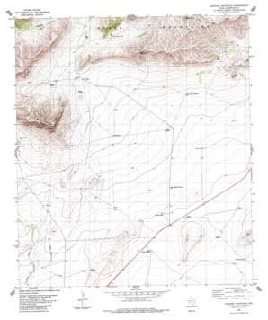 Leonard Mountain topo map