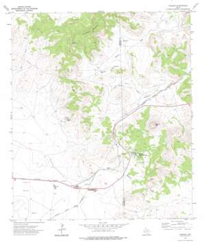 Paisano topo map