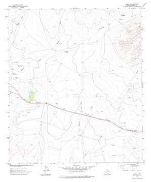 Nopal topo map